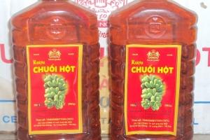 Rượu chuối hột rừng và những tác dụng chữa bệnh cực tốt khi sử dụng