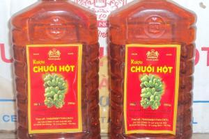 Rượu chuối hột rừng ngon nhất Hà Nội