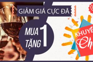 Khuyến mại cực đã chào hè 2017 tại Rượu Trúc Bạch