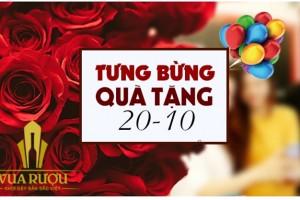 Ngày phụ nữ Việt Nam 20/10 khuyến mại lớn từ Vua Rượu
