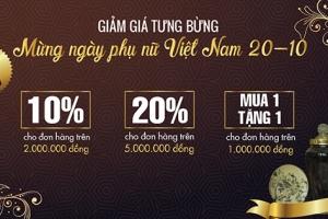 Mừng ngày phụ nữ Việt Nam 20/10 tại Trúc Bạch