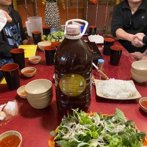 Ăn tô bún ốc bà Lương - Làm thêm chén rượu - Mận ngon tuyệt vời!!!